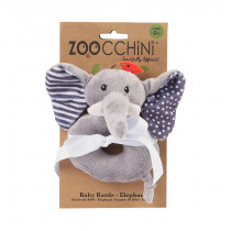 Baby Buddy Rattle Plush - Elle The Elephant
