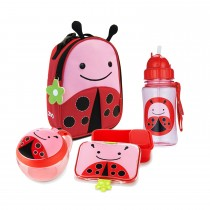 Zoo Lunch Time Bundle  - Ladybug