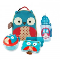 Zoo Lunch Time Bundle  - Owl