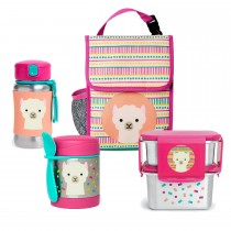 Zoo Stainless Steel Lunch Bundle  - Llama