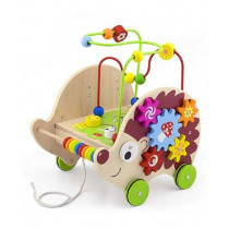 4in1 Pull Along Activity Hedgehog