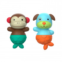 Zoo Mix & Match Flippers -Monkey/Dog