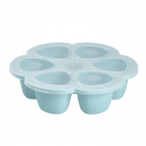 Silicone Multiportions 6 x 90ml - Blue