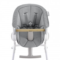 Highchair Up&Down - Textile Seat - Grey