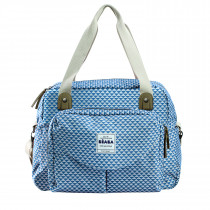 Geneva II Changing Bag Play Print Blue