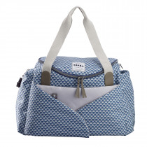 Sydney II Changing Bag - Play Print Blue