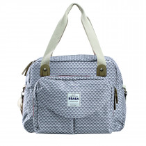 Geneva II Changing Bag Play Print Grey/Coral