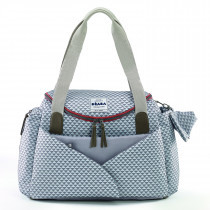 Sydney II Changing Bag - Play Print Grey/Coral