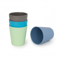 4 Pack of Adult Sized Cups  -  COASTAL COLLECTION