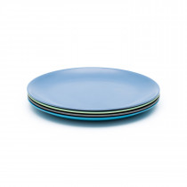 4 Pack of Dinner Plates - COASTAL COLLECTION