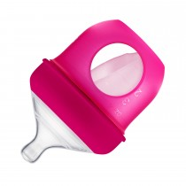 Silicone Bottle 4oz Pink