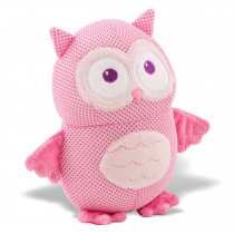 Breathables Soft Toy Owl − Pink