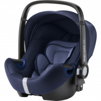 Britax Römer  BABY-SAFE² i-Size BR-Baby Car Seat, From Birth to 15 Months, Group 0+ - Moonlight Blue