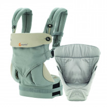 360 Bundle of Joy with Easy Snug Infant Insert - Grey