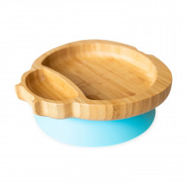 Ladybird Plate with suction base - Blue
