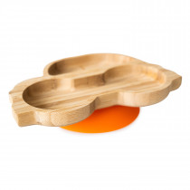 Car Plate with super suction base - Orange