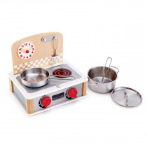 2-In-1 Kitchen and Grill Set