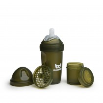 Baby Bottle 240ml/8oz Army Green