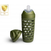 Eco Baby Bottle 320ml/ 11oz Forest Green