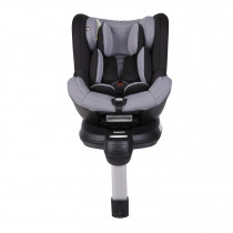 Safe Rotate Carseat- Black/ Silver