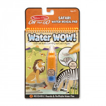 Melissa & Doug Water Wow! - Safari Water Reveal Pad