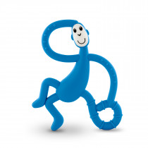 Dancing Monkey Teether - Blue