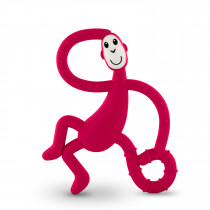 Dancing Monkey Teether - Rubine