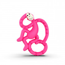 Mini Monkey Teether - Pink