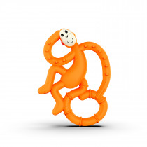 Mini Monkey Teether - Orange