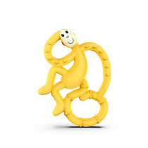 Mini Monkey Teether - Yellow