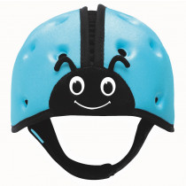 Soft Helmet For Babies Learning To Walk - Ladybird Blue