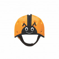 Soft Helmet For Babies Learning To Walk - Ladybird Orange