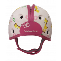 Soft Helmet For Babies Learning To Walk - Giraffe Baby