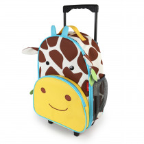 Zoo Kids Rolling Luggage - Giraffe