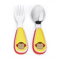 Zootensils Fork & Spoon - Monkey