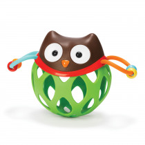 Explore & More Roll Around Rattle - Owl