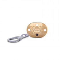 SUAVINEX  PREMIUM SOOTHER CHAIN LILAC L1