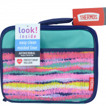 Standard Lunch Kit With Ldpe Liner - Ikat Stripes Girls