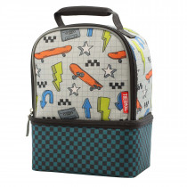 Dual Lunch Kit With Ldpe Liner - Skater