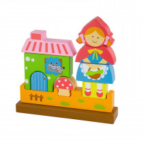 Magnetic Standing Puzzle - Red Riding Hood