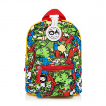 Mini Backpack+ Safety Harness − Dino Multi