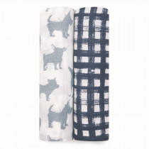 Classic 2 Pack Swaddles - Waverly
