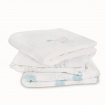 3 Pack Musy Muslin Squares - Night Sky Reverie