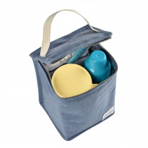 Isothermal Meal Pouch -Heather Blue
