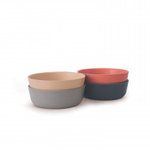 Bambino Bowl Set SCANDI - Blush, Cloud, Storm, Terracotta