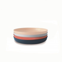 Bambino Small Plate Set SCANDI - Blush, Cloud, Storm, Terracotta