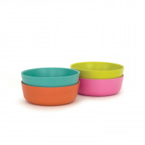 Bambino Bowl Set POP - Lagoon, Lime, Persimmon, Rose