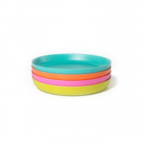 Bambino Small Plate Set POP - Lagoon, Lime, Persimmon, Rose