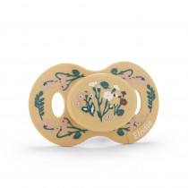 Pacifier - Golden Vintage Flower