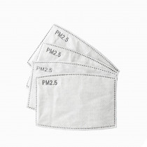 P2.5 Face Mask Filters Small - 5 Pack